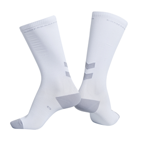 HUMMEL ELITE COMPRESSION SOCK WHITE EUR 45/50