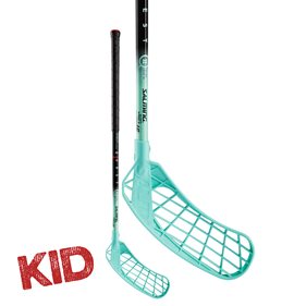 SALMING Q2 KID BLACK/BLUE 35 JR 67CM LEFT
