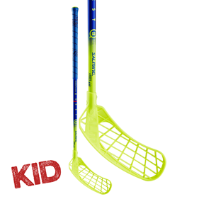 SALMING Q2 KID NAVY/LIME 35 JR 72CM LEFT