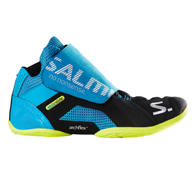 SALMING SLIDE 5 GOALIE SHOE CYAN/BLACK EUR 37 - 23 CM