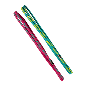 SALMING TWIN HAIRBAND 2-PACK PINK/GREEN