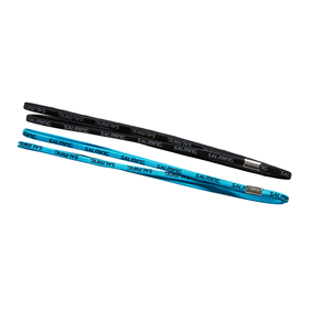 SALMING TWIN HAIRBAND BLUE/BLACK 2-PACK