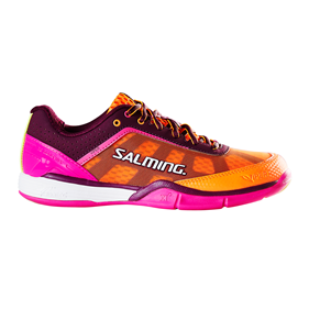 SALMING VIPER 4 WOMEN PURPLE/ORANGE EUR 36 - 22.5 CM