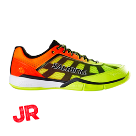 SALMING VIPER 4 JUNIOR YELLOW/ORANGE EUR 36 2/3 - 23 CM