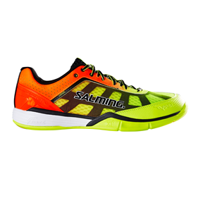 SALMING VIPER 4 MEN YELLOW/ORANGE EUR 40 2/3 - 25.5 CM