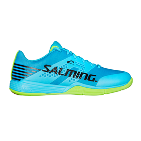 SALMING VIPER 5 MEN BLUE/GREEN EUR 44 2/3 - 28.5 CM