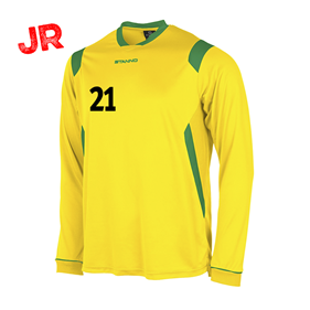 STANNO AREZZO TRÖJA LS JR YELLOW-GREEN 128 CL