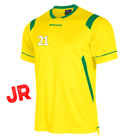 STANNO AREZZO TRÖJA YELLOW-GREEN JR 128 CL