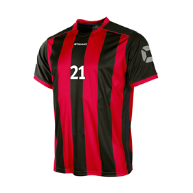 STANNO BRIGHTON TRÖJA BLACK-RED L
