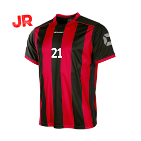STANNO BRIGHTON TRÖJA JR BLACK-RED 128 CL