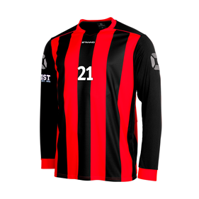 STANNO BRIGHTON TRÖJA LS BLACK-RED L