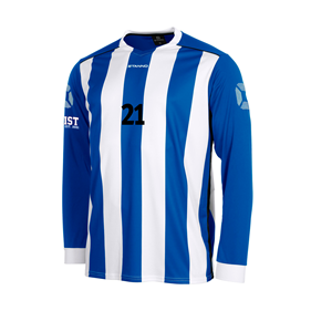 STANNO BRIGHTON TRÖJA LS ROYAL-WHITE L