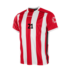 STANNO BRIGHTON TRÖJA RED-WHITE L