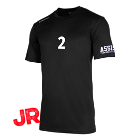 STANNO FIELD SHIRT JR BLACK 128 CL