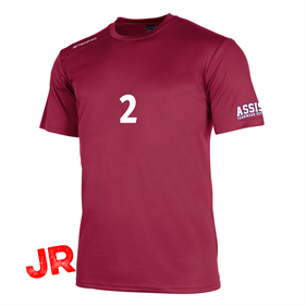 STANNO FIELD SHIRT SS MAROON JR 128 CL