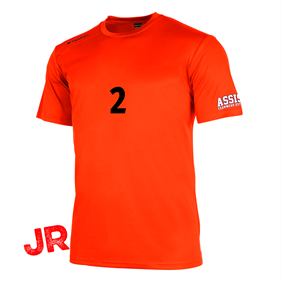 STANNO FIELD SHIRT SS ORANGE JR 128 CL