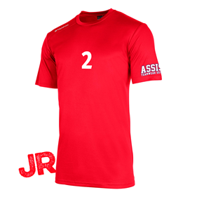 STANNO FIELD SHIRT JR RED 128 CL