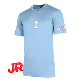 STANNO FIELD SHIRT JR SKY BLUE 128 CL