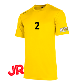 STANNO FIELD SHIRT JR YELLOW 128 CL