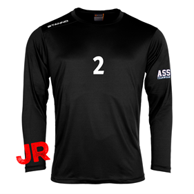 STANNO FIELD SHIRT LS JR BLACK 128 CL