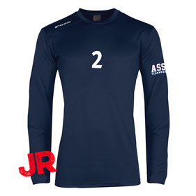 STANNO FIELD SHIRT LS JR NAVY 128 CL