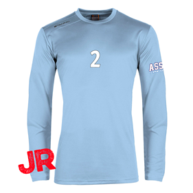 STANNO FIELD SHIRT LS JR SKY BLUE 128 CL