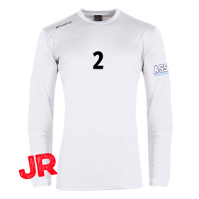 STANNO FIELD SHIRT LS JR WHITE 128 CL