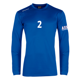 STANNO FIELD SHIRT LS ROYAL L