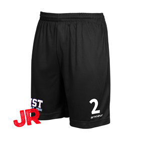 STANNO FIELD SHORTS JR BLACK 128 CL