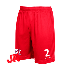 STANNO FIELD SHORTS RED JR 128 CL