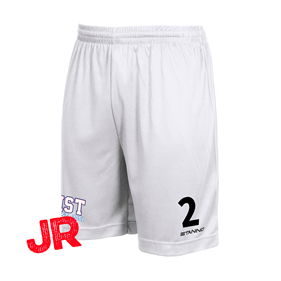 STANNO FIELD SHORTS JR WHITE 128 CL