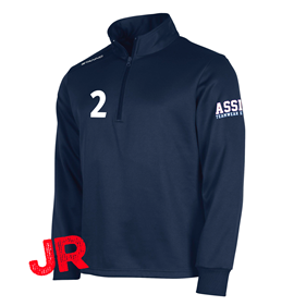 STANNO FIELD TOP HALF ZIP JR NAVY 128 CL