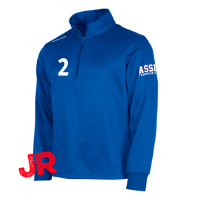 STANNO FIELD TOP HALF ZIP JR ROYAL 128 CL