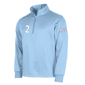 STANNO FIELD TOP HALF ZIP SKY BLUE L