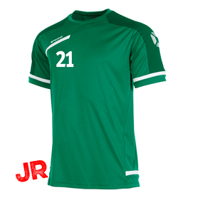 STANNO PRESTIGE T-SHIRT GREEN/WHITE JR 116 CL