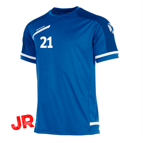 STANNO PRESTIGE T-SHIRT ROYAL/WHITE JR 116 CL