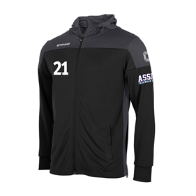 STANNO PRIDE FZ HOODED BLACK-GREY L