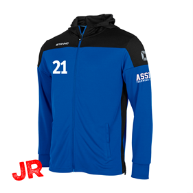 STANNO PRIDE FZ HOODED BLUE-BLACK JR 116 CL
