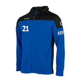 STANNO PRIDE FZ HOODED BLUE-BLACK L
