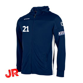 STANNO PRIDE FZ HOODED NAVY JR 116 CL