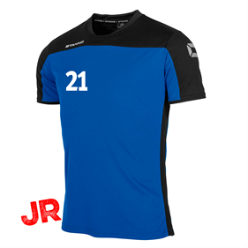 STANNO PRIDE T-SHIRT ROYAL-BLACK JR 116 CL
