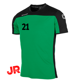 STANNO PRIDE T-SHIRT GREEN-BLACK JR 116 CL