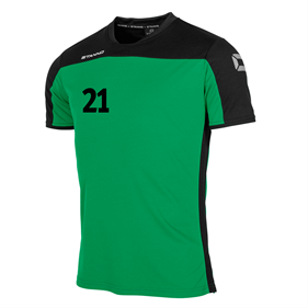 STANNO PRIDE T-SHIRT GREEN-BLACK L