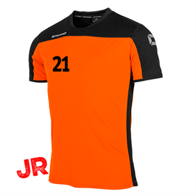 STANNO PRIDE T-SHIRT ORANGE-BLACK JR 116 CL