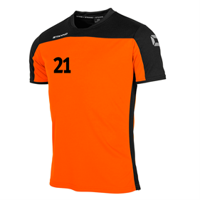 STANNO PRIDE T-SHIRT ORANGE-BLACK L