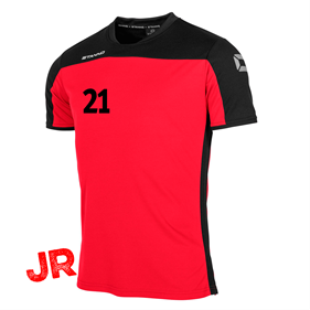 STANNO PRIDE T-SHIRT RED-BLACK JR 116 CL