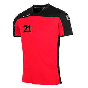 STANNO PRIDE T-SHIRT RED-BLACK L