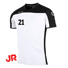 STANNO PRIDE T-SHIRT WHITE-BLACK JR 116 CL