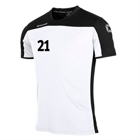 STANNO PRIDE T-SHIRT WHITE-BLACK L
