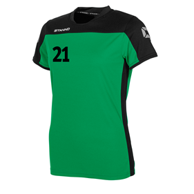 STANNO PRIDE T-SHIRT WN´S GREEN-BLACK L